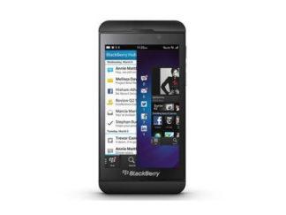 BlackBerry Z10 unlock